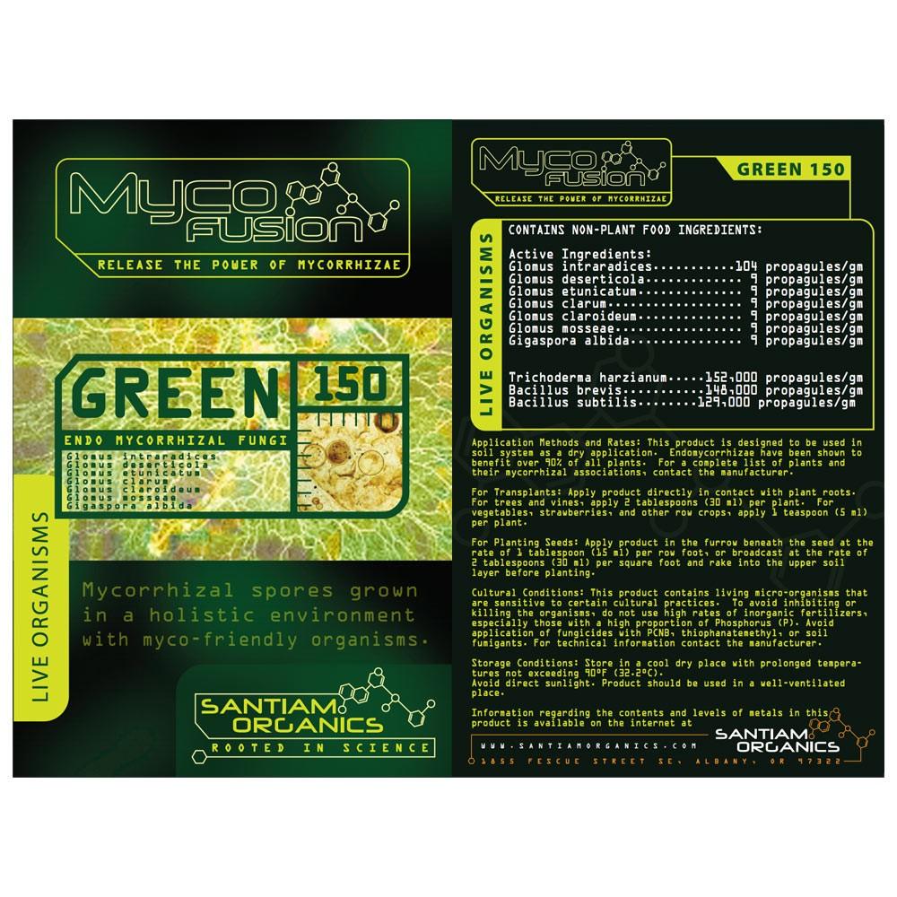 Myco-Fusion Green 150 Endo Mycorrhizal Fungi
