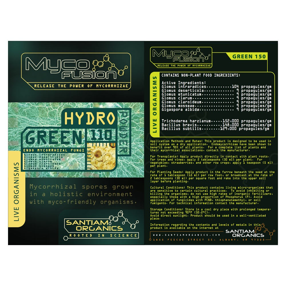 Hydro-Green 110 Endo Mycorrhizal Fungi