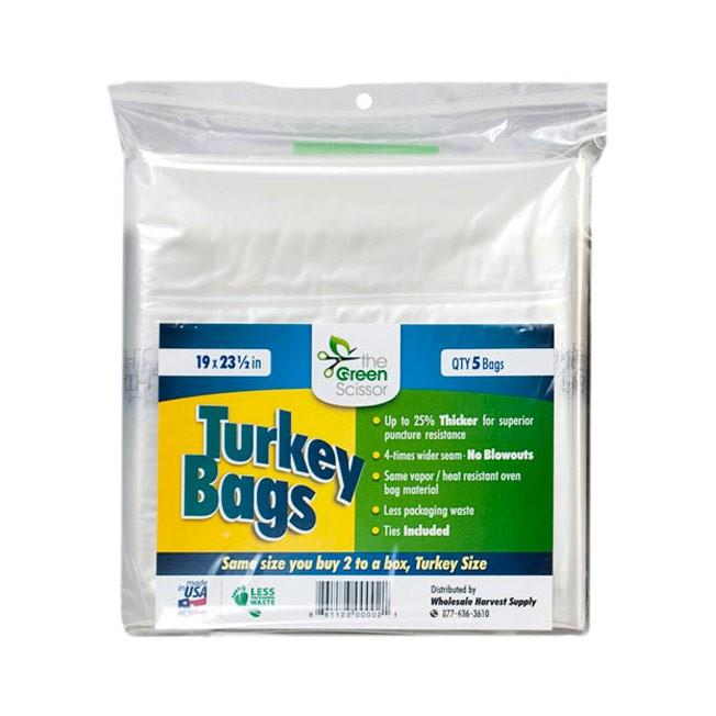 The Green Scissor Turkey Bags