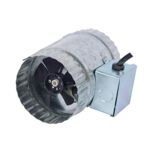 "Hurricane Inline Duct Booster 4"" 70 CFM"