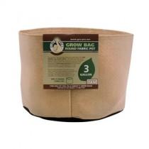 Tan Gro Pro Premium Gallon Round Fabric Pots