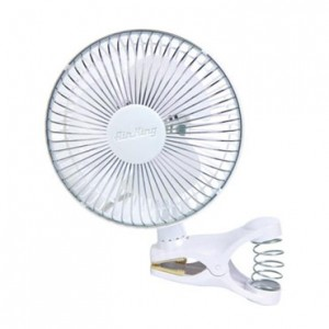 6 in. Air King Clip-On Fan