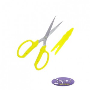 "3"" Chrome Plated Floral Scissors with Blade Cap"