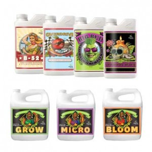 Advanced Nutrients Grow-Micro-Bloom + Voodoo Juice + B-52 + Big Bud + Overdrive