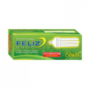 Feliz 250w Red Fluorescent Grow Lamp