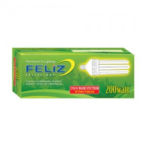 Feliz 200w Red Fluorescent Grow Lamp