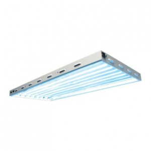 Sun Blaze T5 High Output 4 ft Long 8 Lamp Fluorescent System