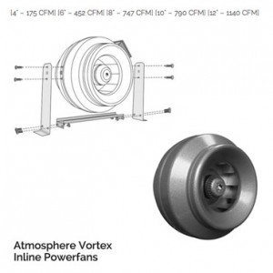 Atmosphere Vortex Inline Powerfans