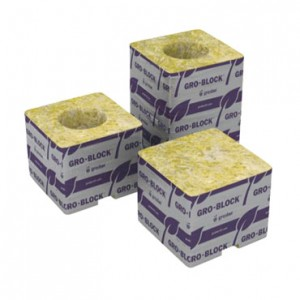 8 Grodan 3x3x4 in. Gro-Blocks w/ holes