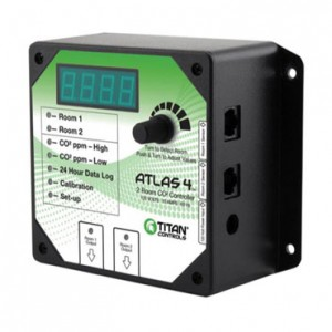 Atlas 4 - 2 Room CO2 Monitor