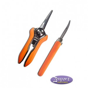 Micro Trimmer Shear – Curved Twin Blades