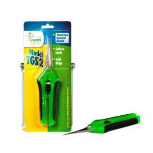 The Green Scissor Titanium Snips – Straight