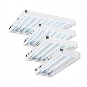 Maxlume 2' T5 Fluorescent Fixture w/ Grow Bulbs