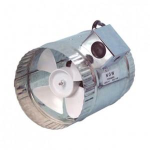 "Hurricane Inline Duct Booster 6"" 160 CFM"