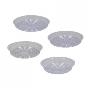 Gro Pro Clear Plastic Saucer